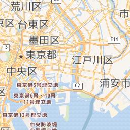 地図に円を描く Leaflet版